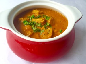 Soya Chaap in Makhani Gravy